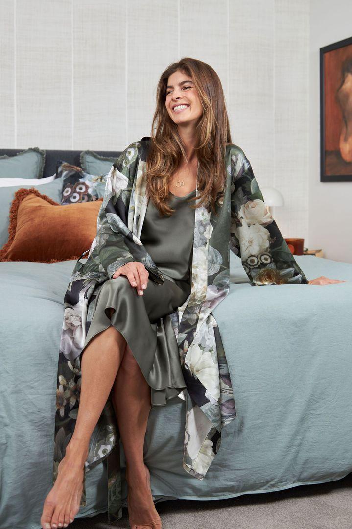 MM Linen - Silk Robe - Floz image 1