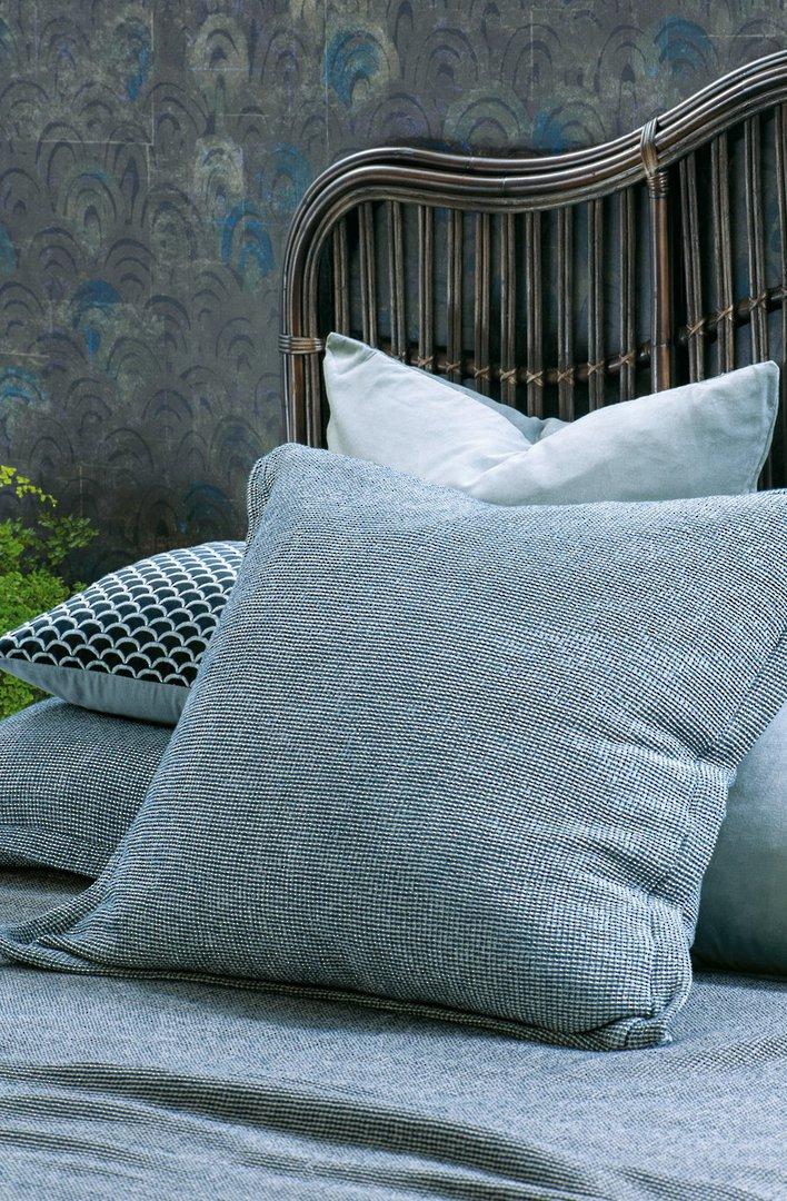 Bianca Lorenne - Sottobosco Bedspread / Pillowcase/Eurocase - Indigo image 2