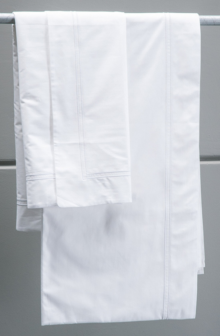 Bianca Lorenne - Livorno White  Duvet Cover image 0
