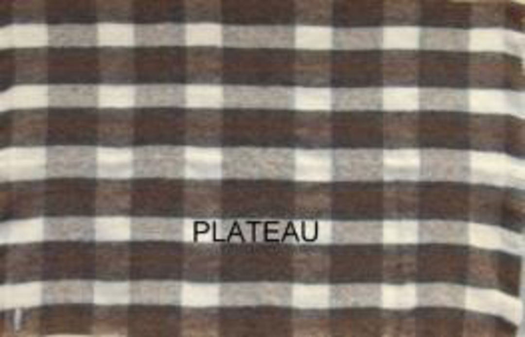 Alpaca Plateau - Brushed Throw by Master Weave image 1
