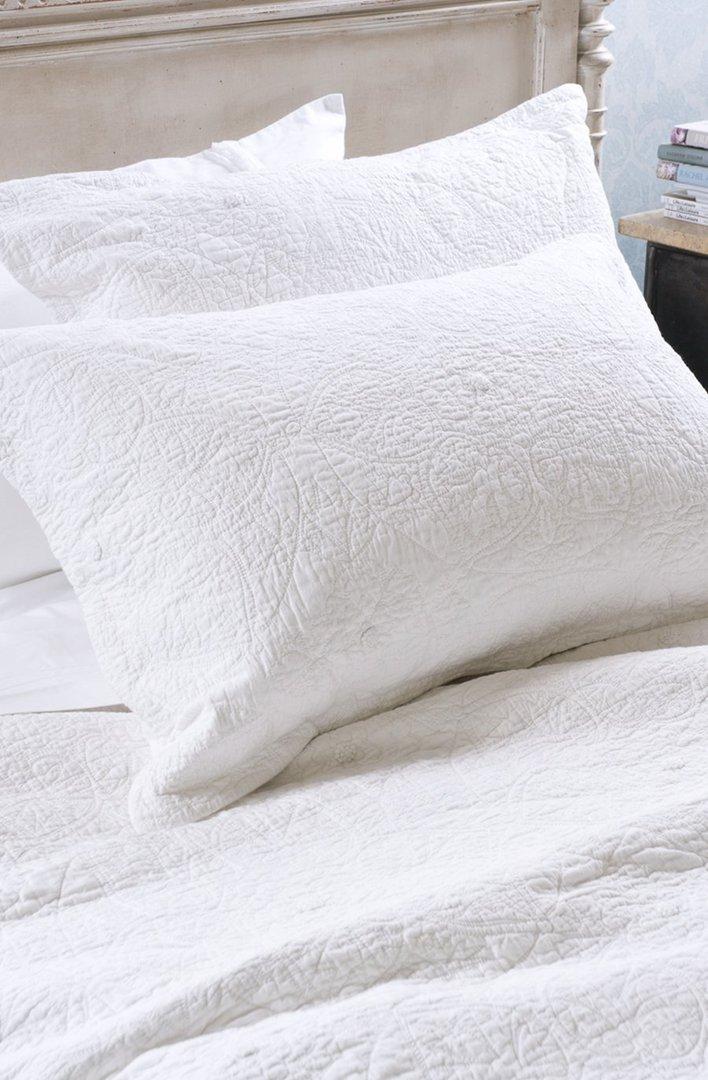 Bianca Lorenne - Amarento Duvet Cover / Pillowcase/Eurocase - White image 1