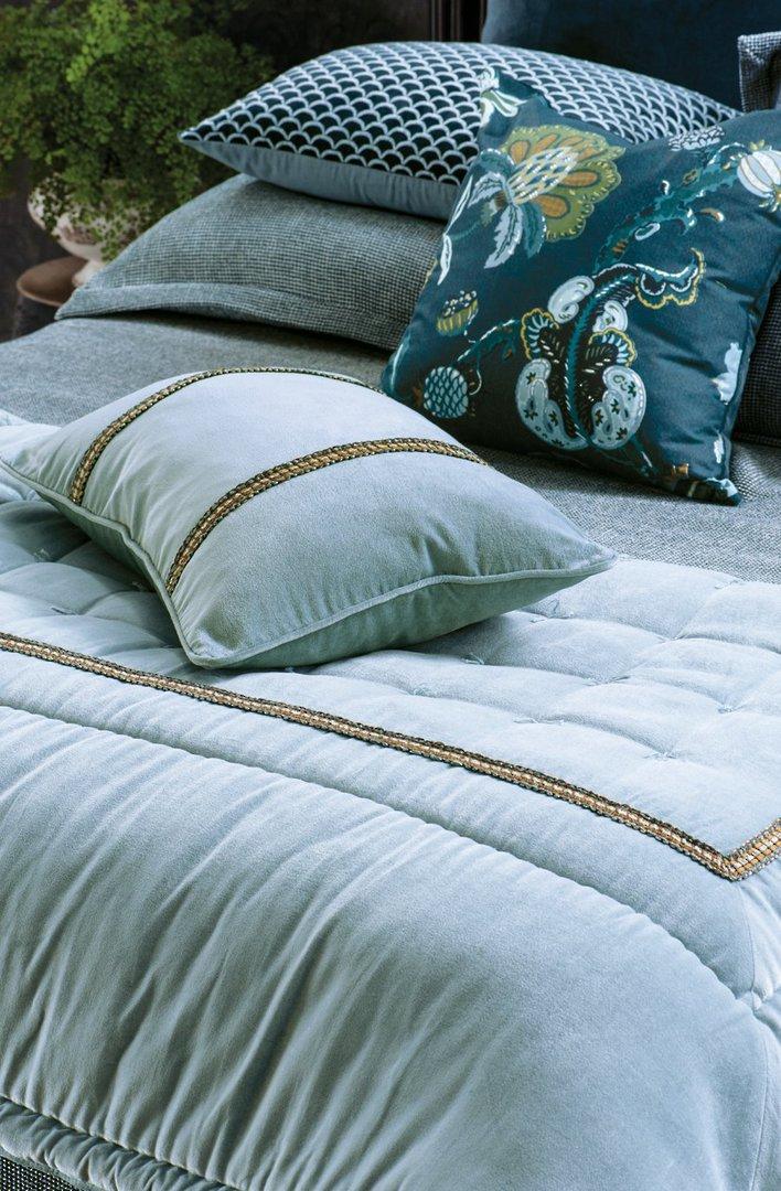 Bianca Lorenne - Luchesi Comforter/ Eurocase /Cushion - Smoke Blue image 0