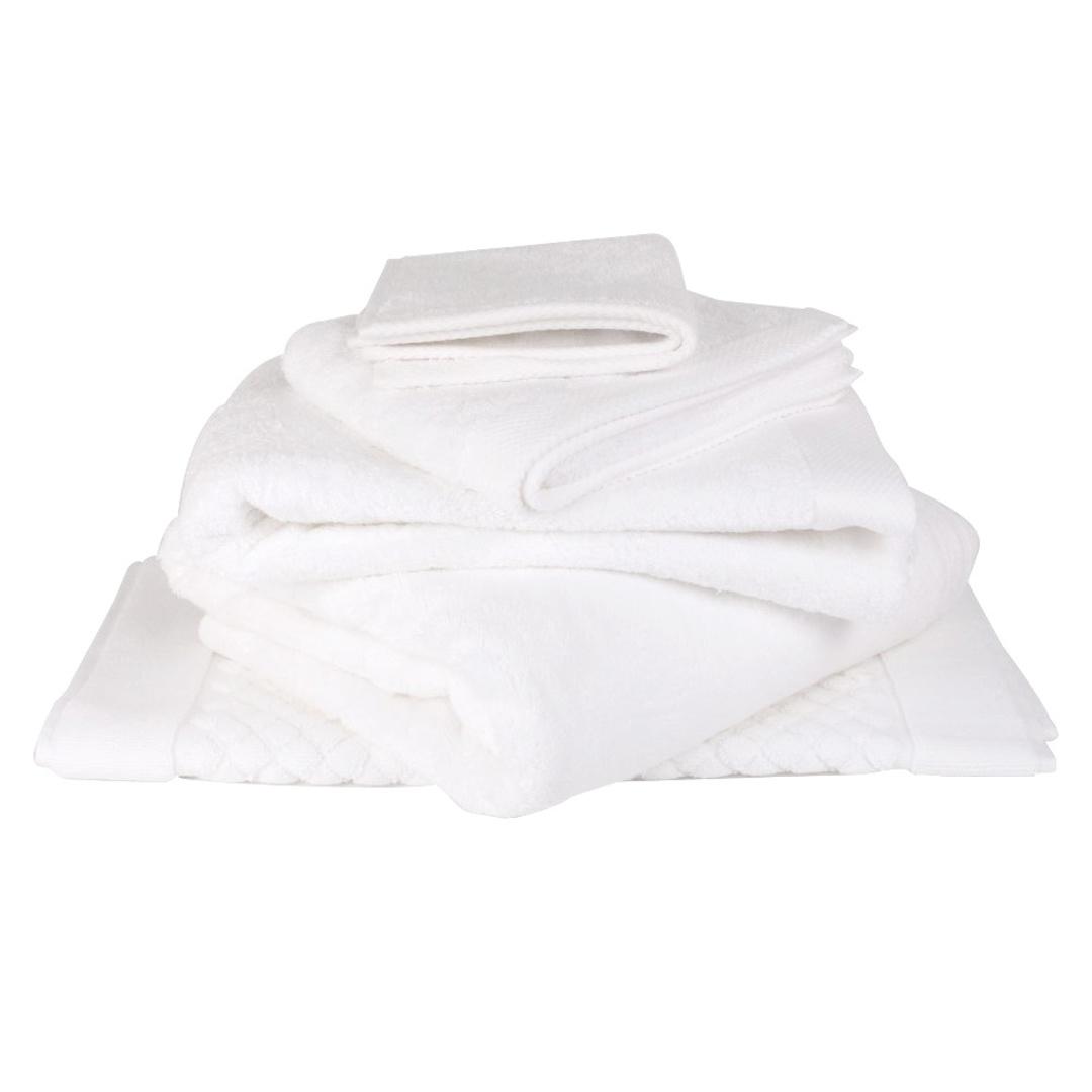 Baksana - Bamboo Towels - White image 0