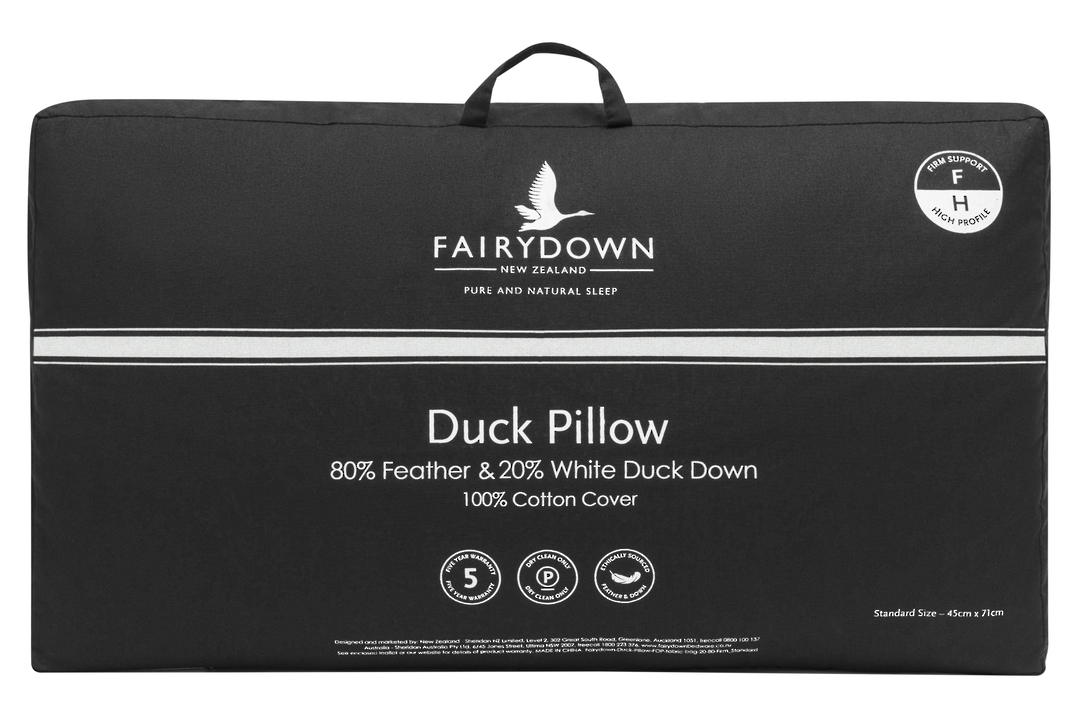 Fairydown  - Duck Feather & Down 80/20 Pillow image 0