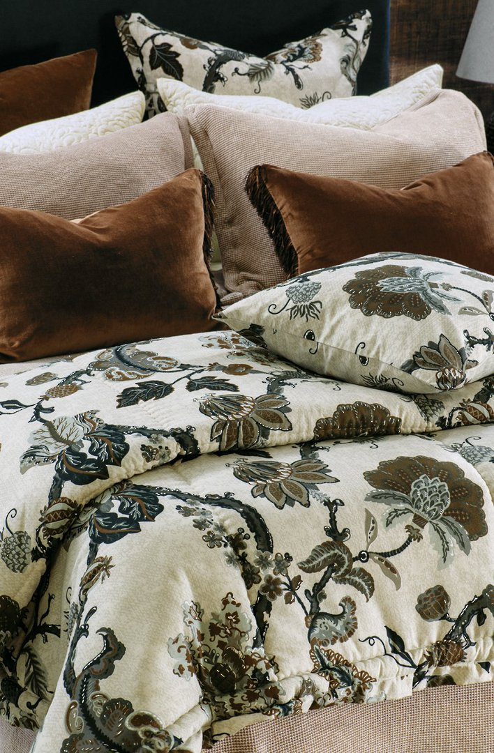 Bianca Lorenne - Capriccio Comforter / Pillowcase/Eurocase/Cushion - Natural image 0