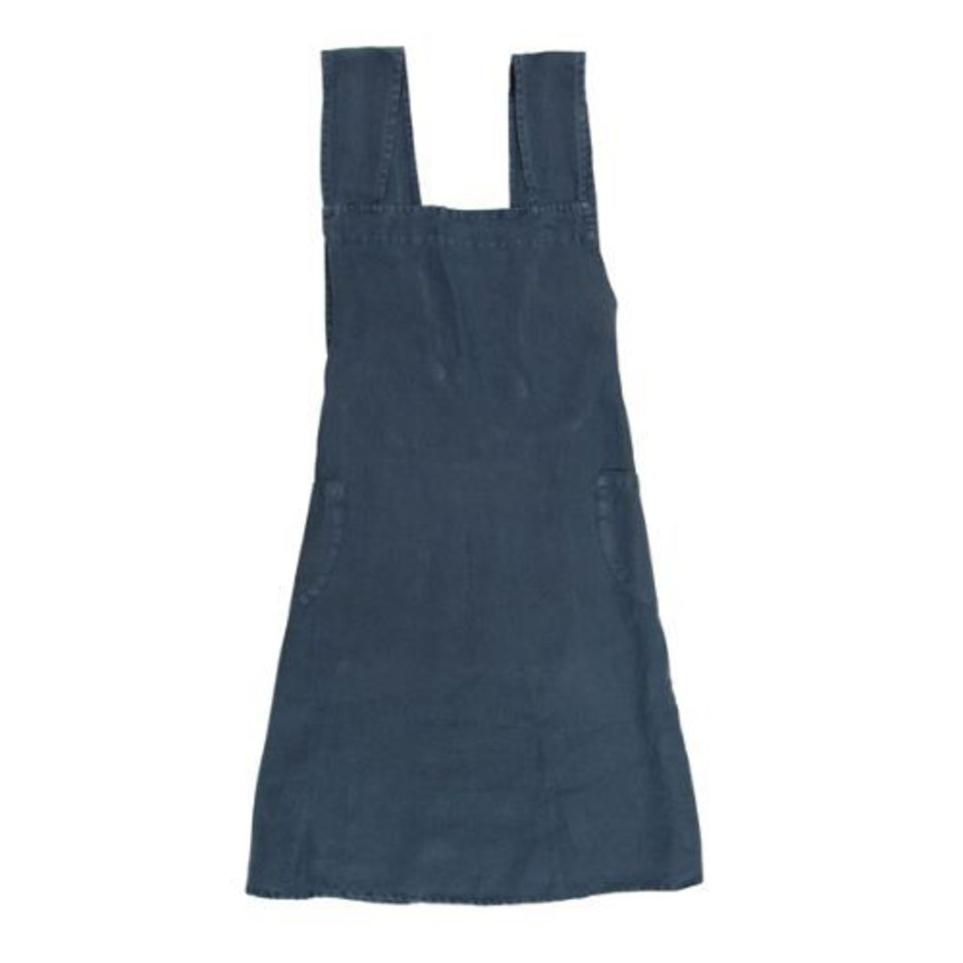 French Country - Aprons Cross Back - Grey, Navy, Pale Blue, Natural image 1