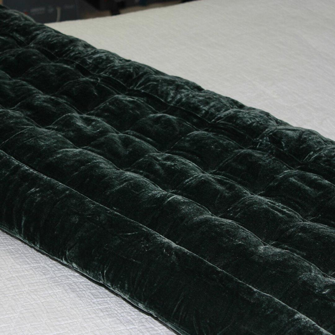 Seneca - Velvet Pin Comforter - Liquorice image 0