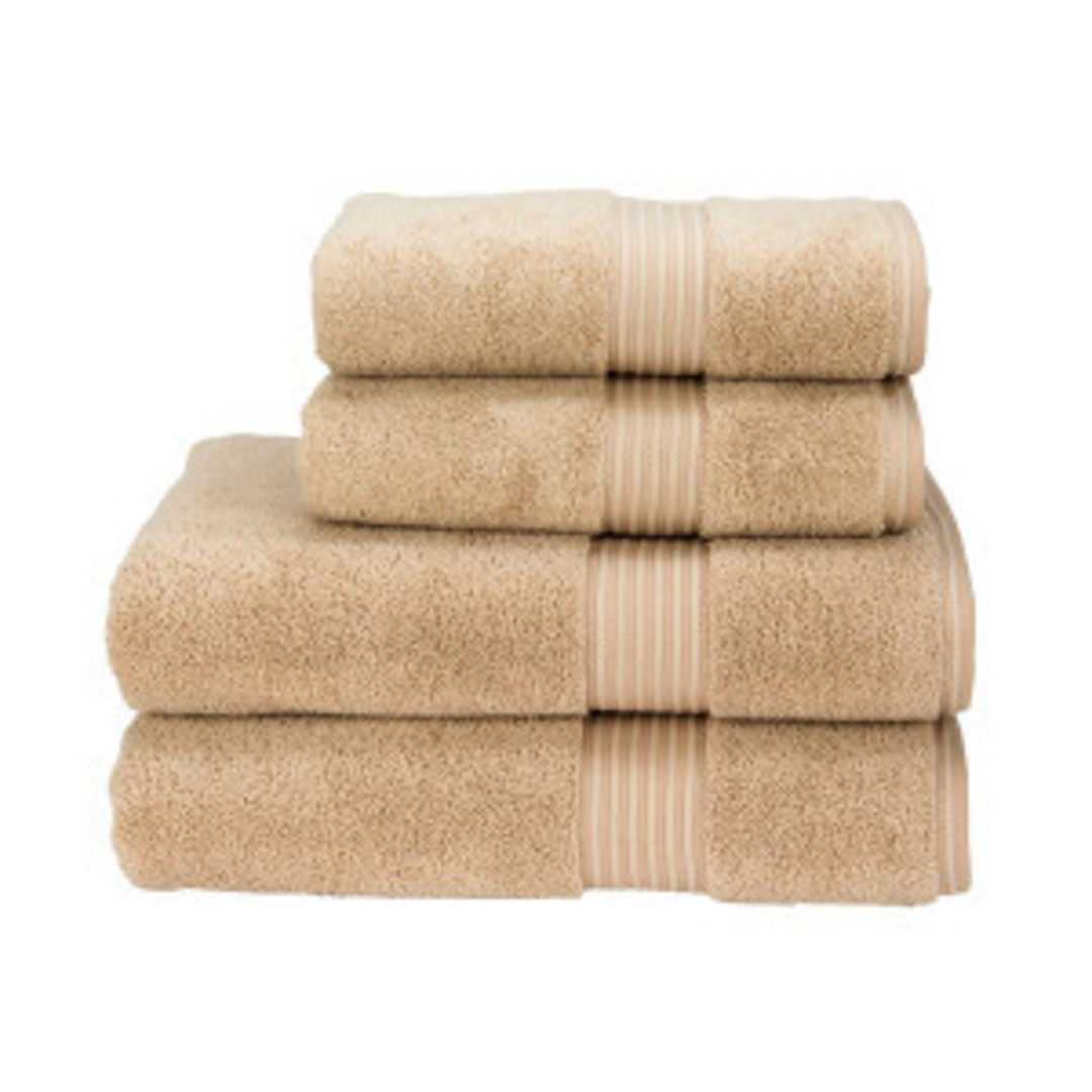 Seneca - Christy Supreme Hygro Towels, Hand Towels & Face Cloths - Stone image 0