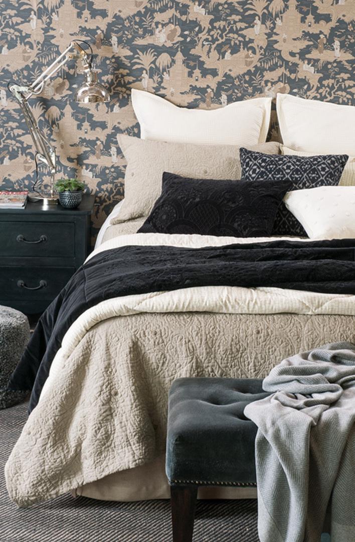 Bianca Lorenne - Amarento Duvet Cover / Pillowcase/Eurocase - Natural Linen image 0
