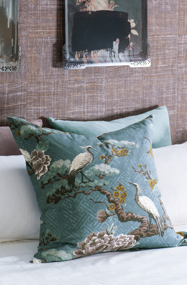 Bianca Lorenne - Kuren Pillowcase/Eurocase/Cushion - Ocean image 0