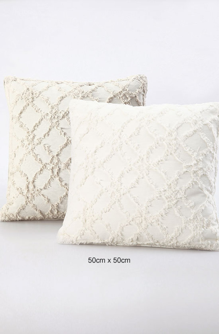 MM Linen - Clover Ivory Cushions image 1