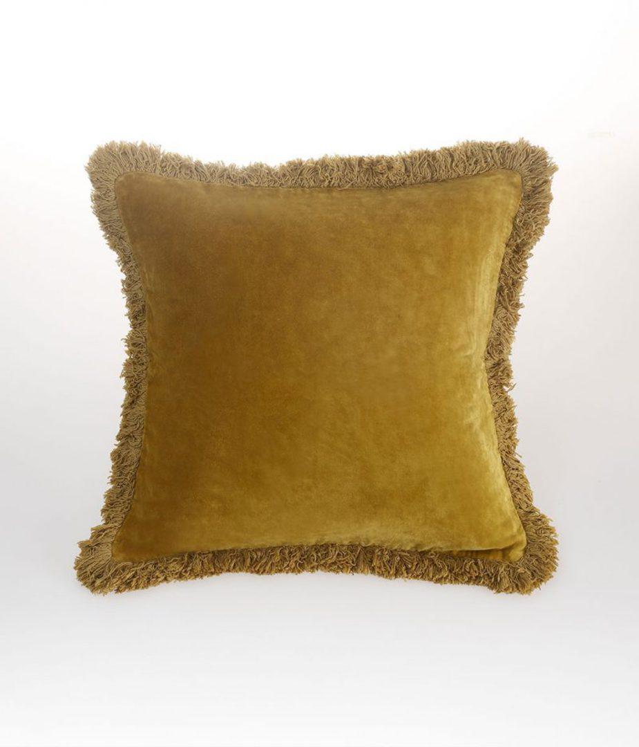 MM Linen - Sabel Cushions - Mustard image 0