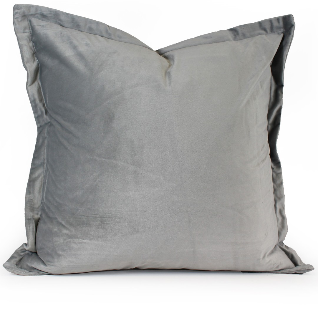 NZ Merchants -  Edens - Savoy Cushion - Silver image 0