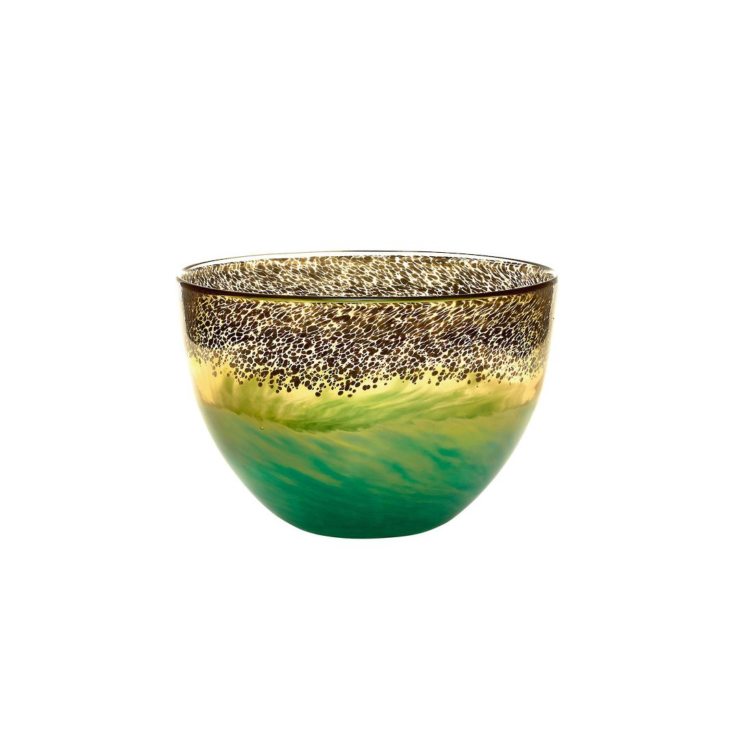 Importico - Voyage Maison Glass - Demeter Bowl - Gold image 0