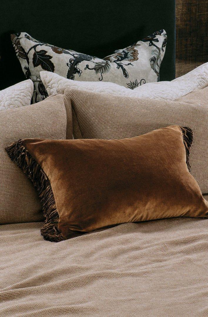 Bianca Lorenne - Tramonto Comforter/ Eurocase /Cushion - Copper image 2
