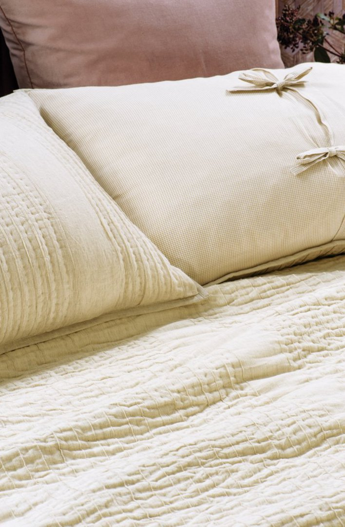 Bianca Lorenne - Puritsu Bedspread /Pillowcase/Eurocase - Ecru image 1