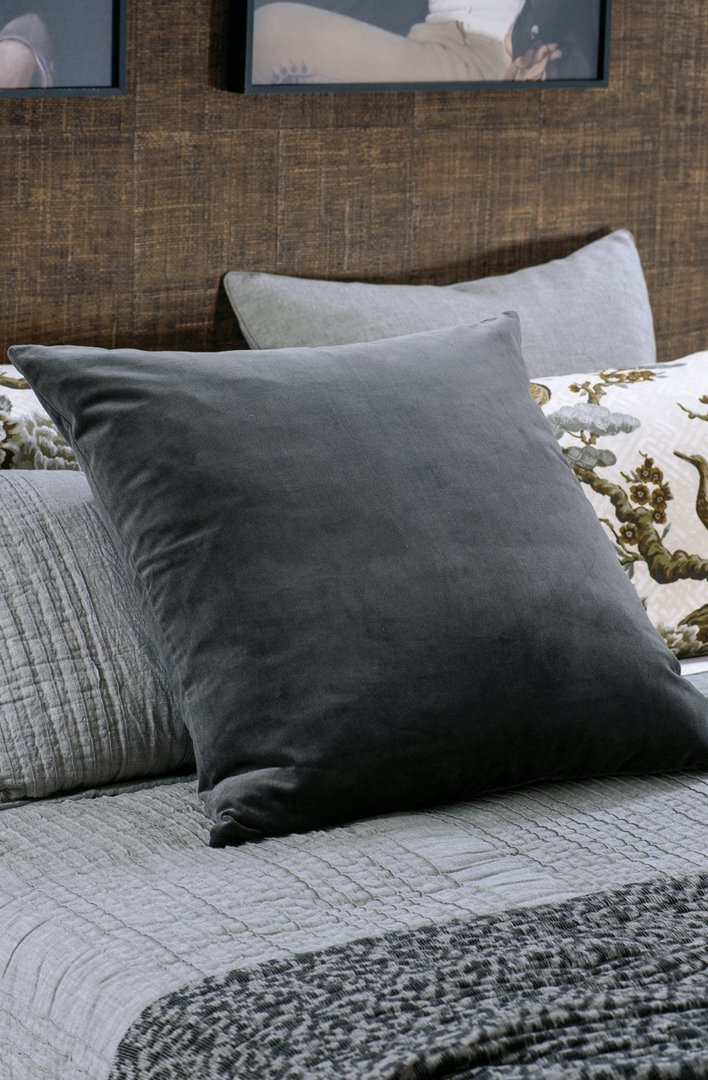 Bianca Lorenne - Tramonto - Comforter / Pillowcase/Eurocase/Cushion - Graphite image 1
