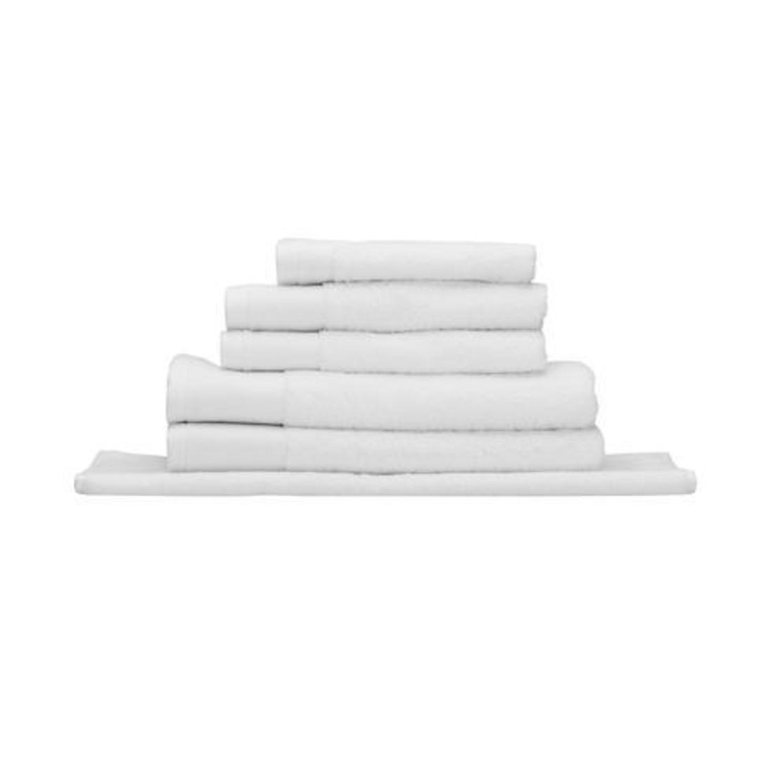 Seneca - Vida Organic Towels, Face Clothes, Hand Towels, Bath Mats - White image 0