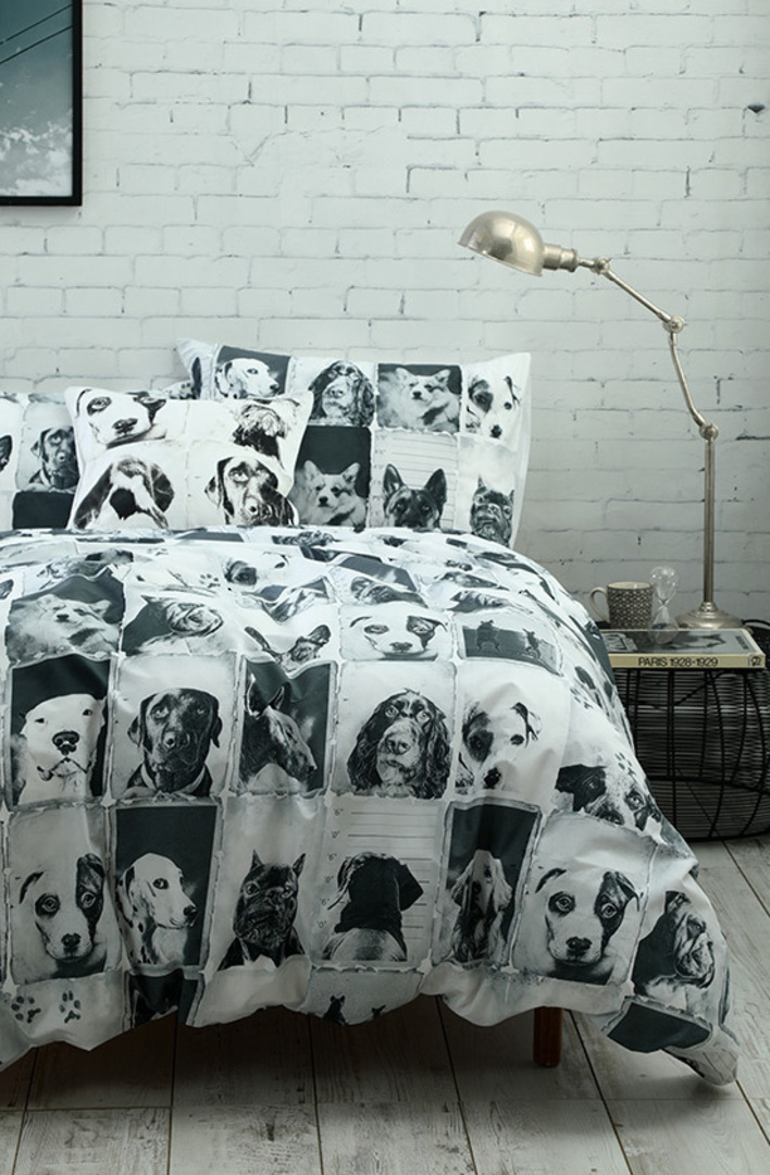 MM Linen - Canine Duvet Cover Set image 0