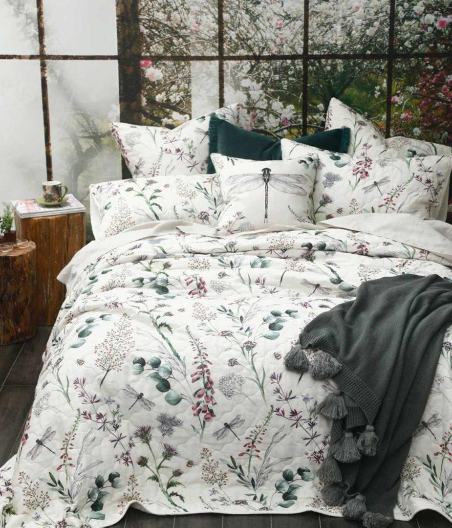 MM Linen - Lula Bedspread Set/Eurocases/Cushion image 3