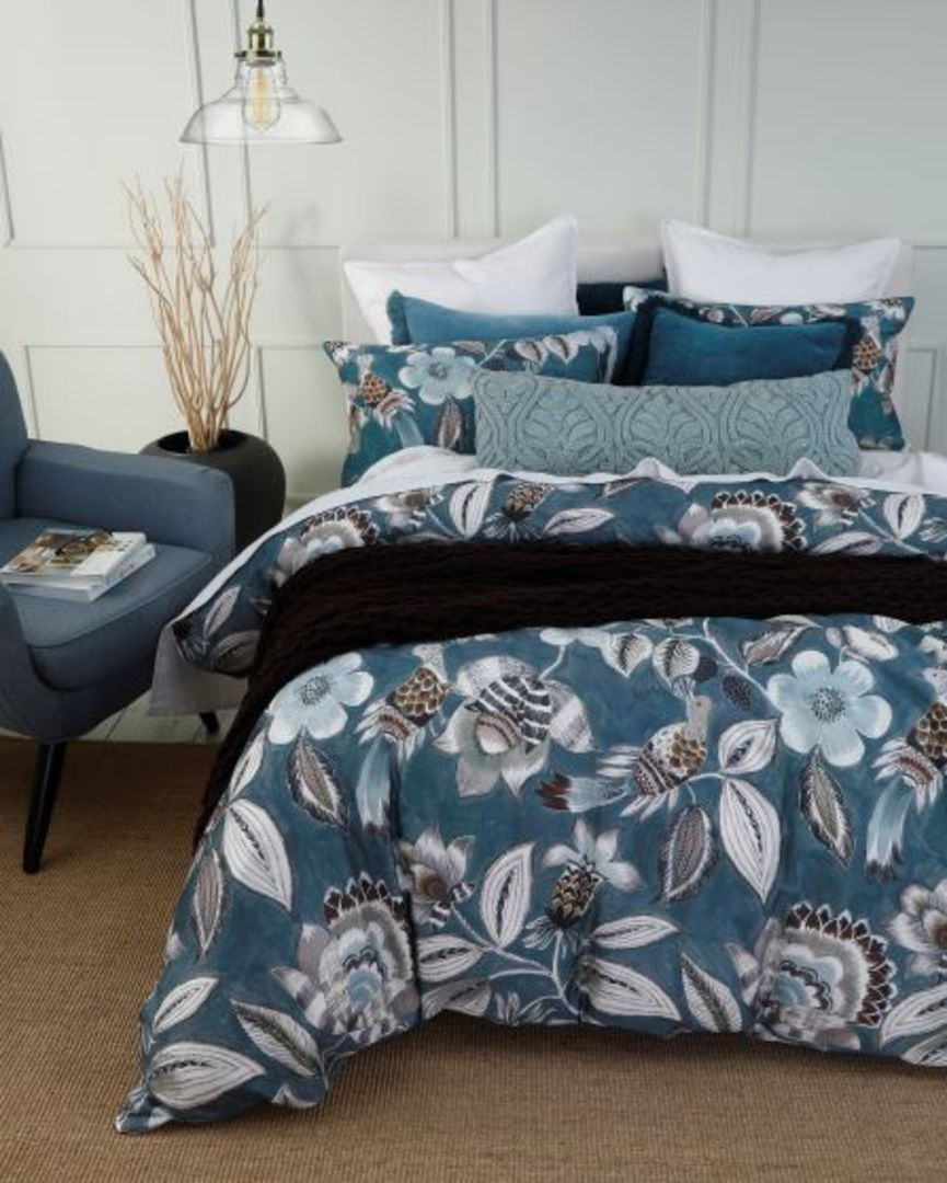 MM Linen - Lark Duvet Set - Teal image 2