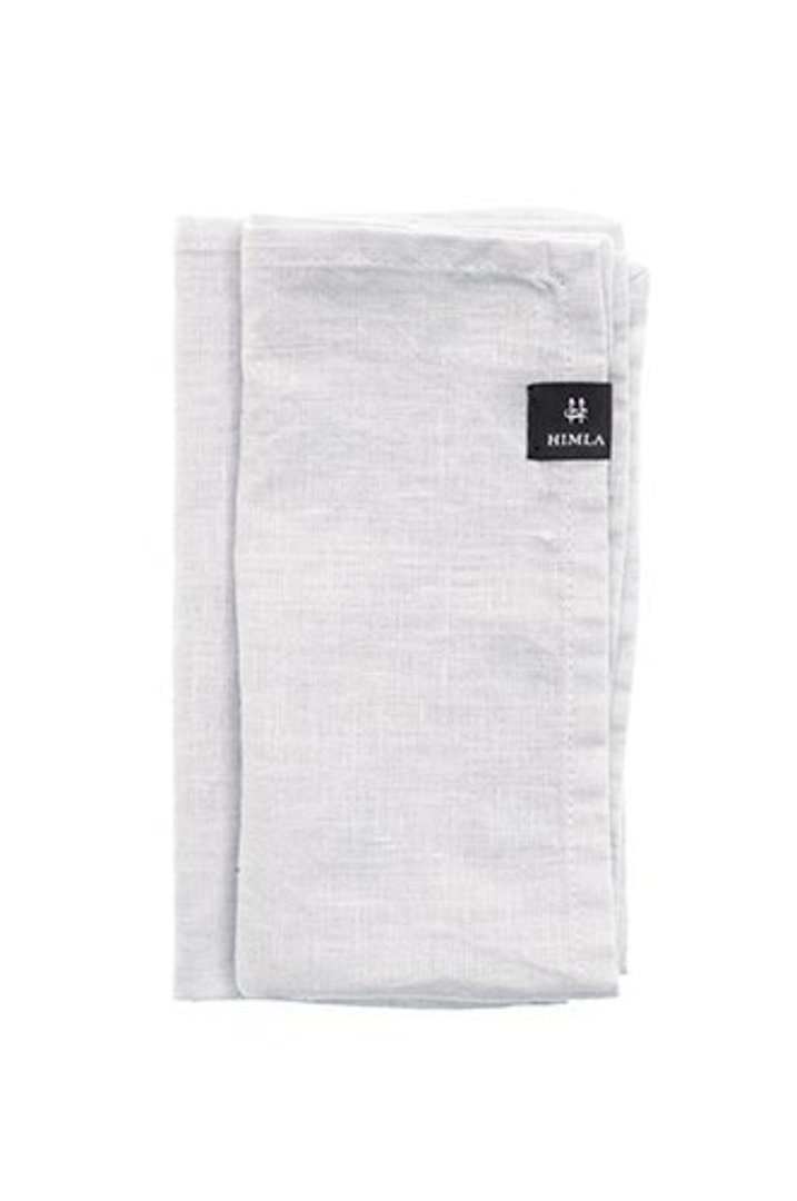 Importico - Himla Napkins/Table Runner/Tablecloths - White image 1