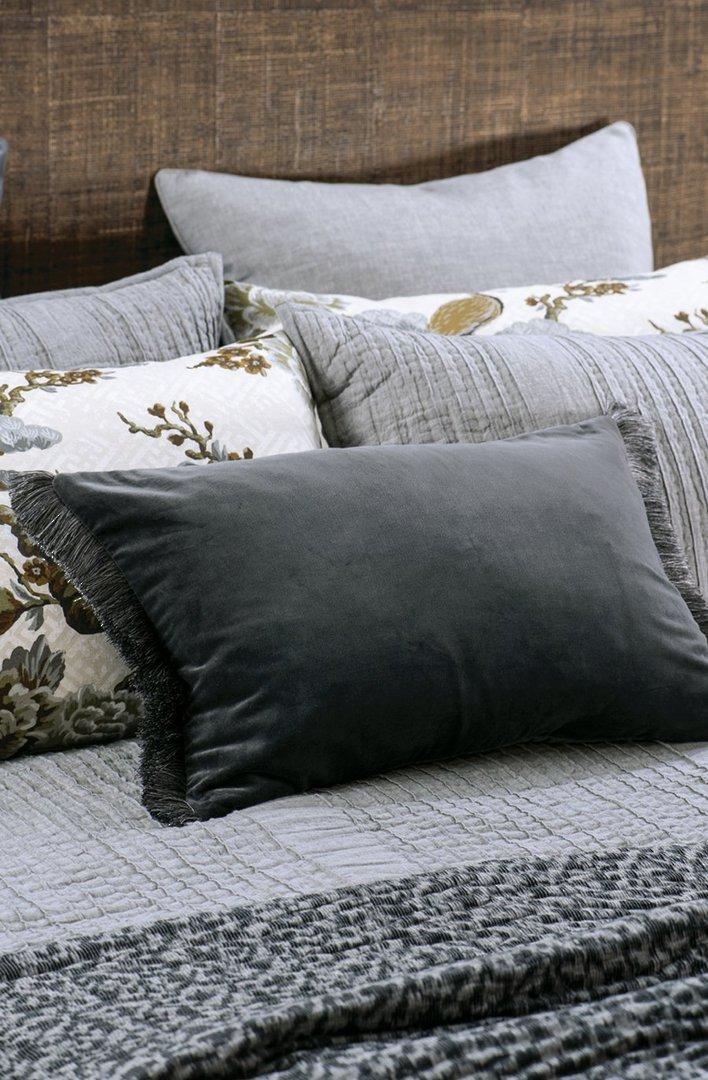 Bianca Lorenne - Tramonto - Comforter / Pillowcase/Eurocase/Cushion - Graphite image 2