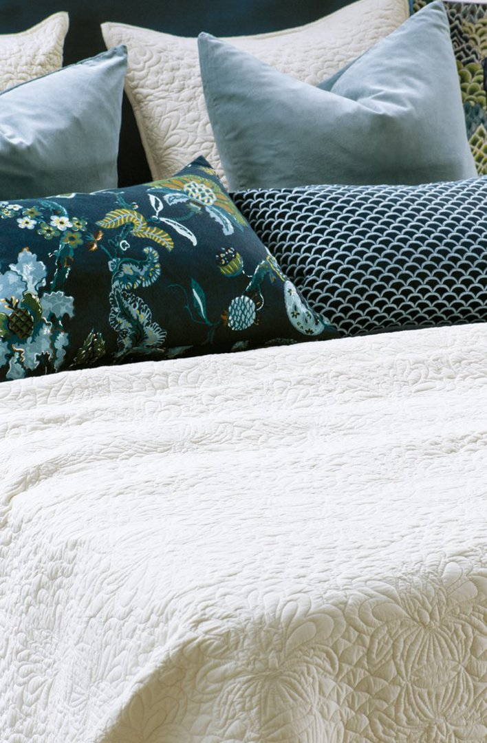 Bianca Lorenne - Fontanella Bedspread / Pillowcase/Eurocase - Ivory image 0