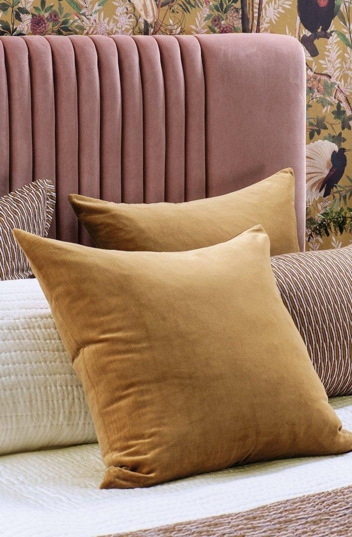 Bianca Lorenne - Mica - Comforter / Pillowcase/Eurocase/Cushion - Antique Gold image 1