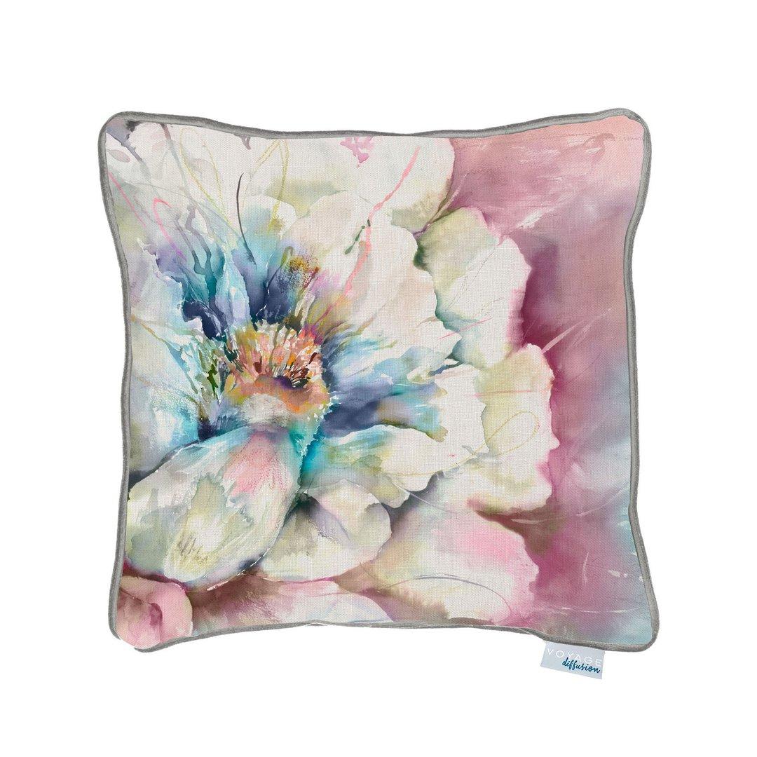Importico -Voyage Maison - Paeonia Cushion - Violet image 0