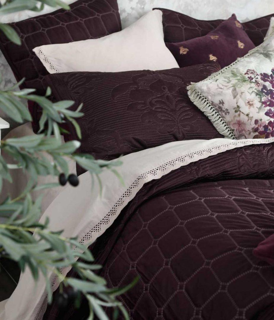 MM Linen - Meeka  Port Quilted  Comforter Set - Large image 0