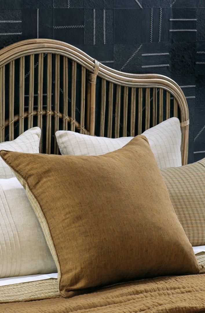 Bianca Lorenne - Misaka- Bedspread - Pillowcase and Eurocase Sold Separately - Dark Ochre image 3