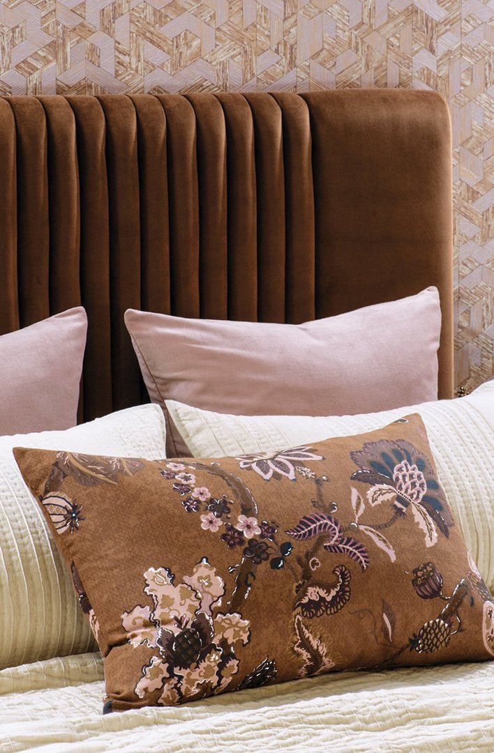 Bianca Lorenne - Capriccio Duvet Cover Set / Pillowcase/ Eurocase -  Copper image 1