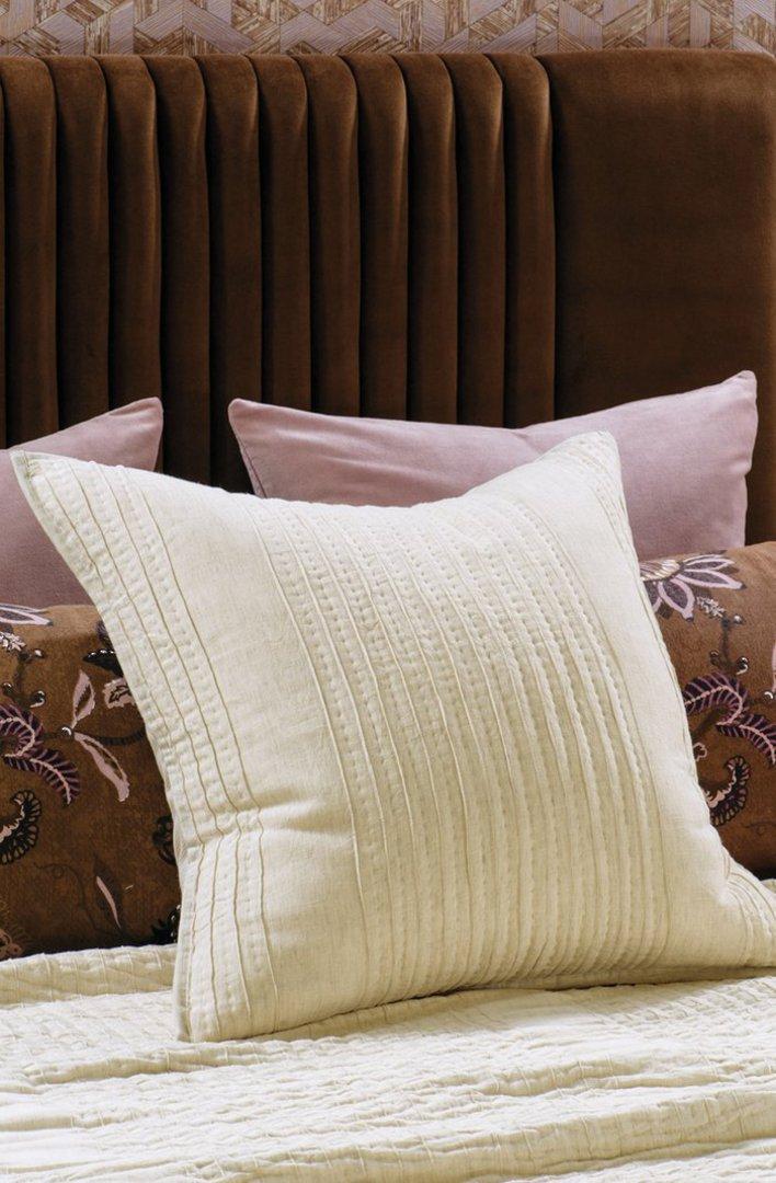 Bianca Lorenne - Puritsu Bedspread /Pillowcase/Eurocase - Ecru image 2