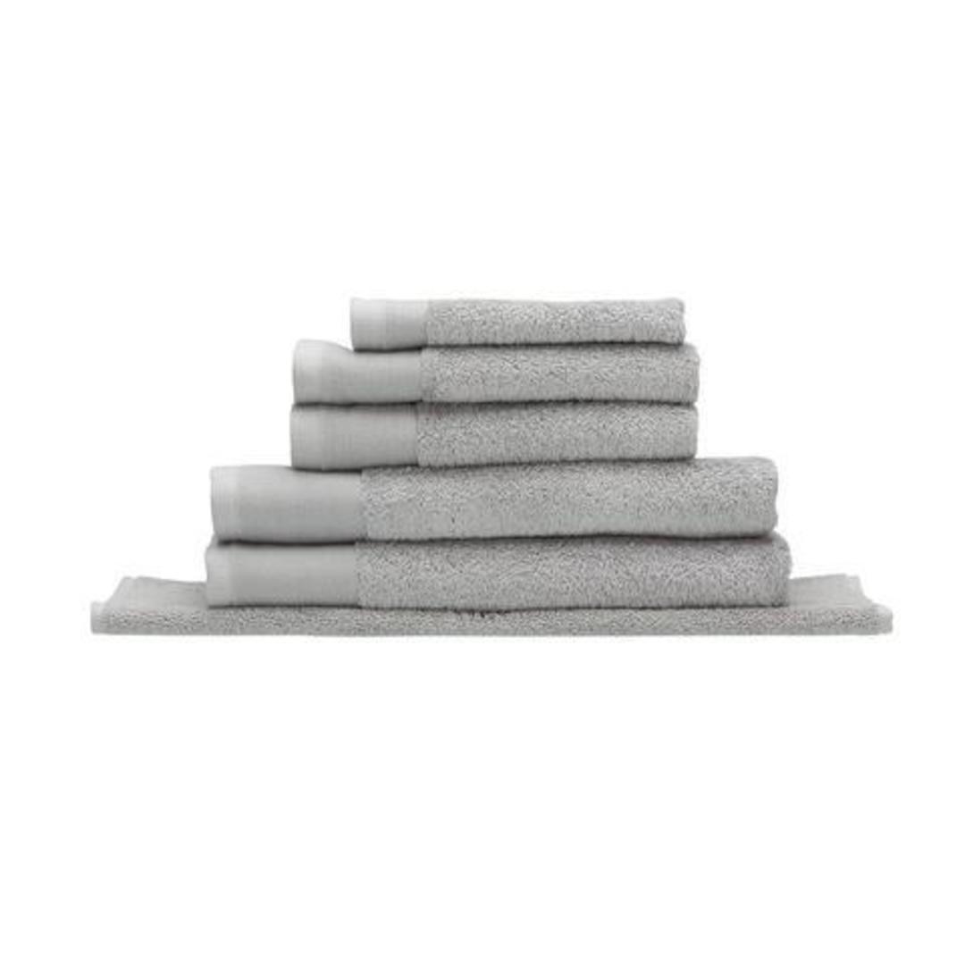 Seneca - Vida Organic Towels, Face Clothes, Hand Towels, Bath Mats - Silver image 0
