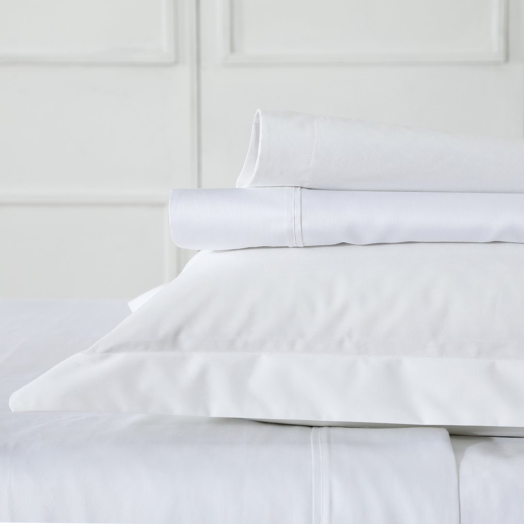 MM Linen - Blake Sheet Set - White image 0