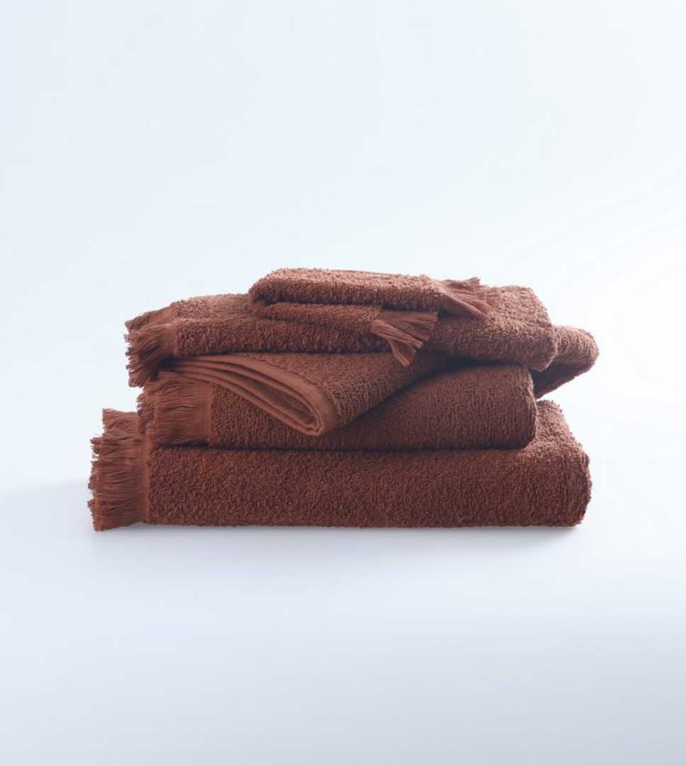 MM Linen - Tusca Towels - Clay image 0
