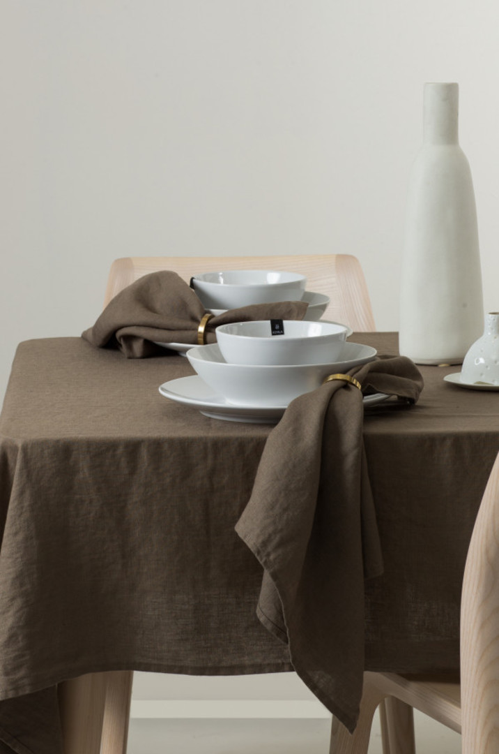 Importico - Himla Napkins/Table Runner/Tablecloths - Clay image 0