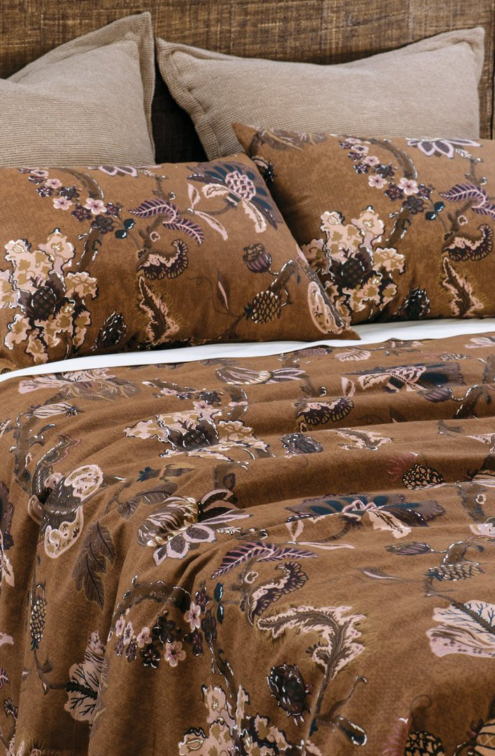 Bianca Lorenne - Capriccio Duvet Cover Set / Pillowcase/ Eurocase -  Copper image 0