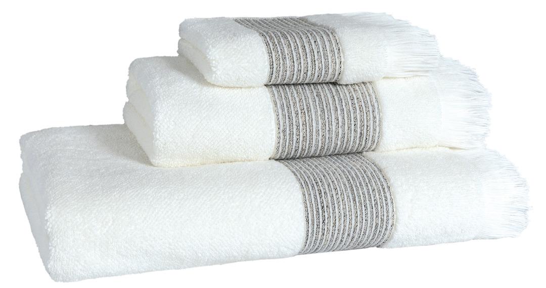 Importico - Devilla - Prato Ivory Towels image 0