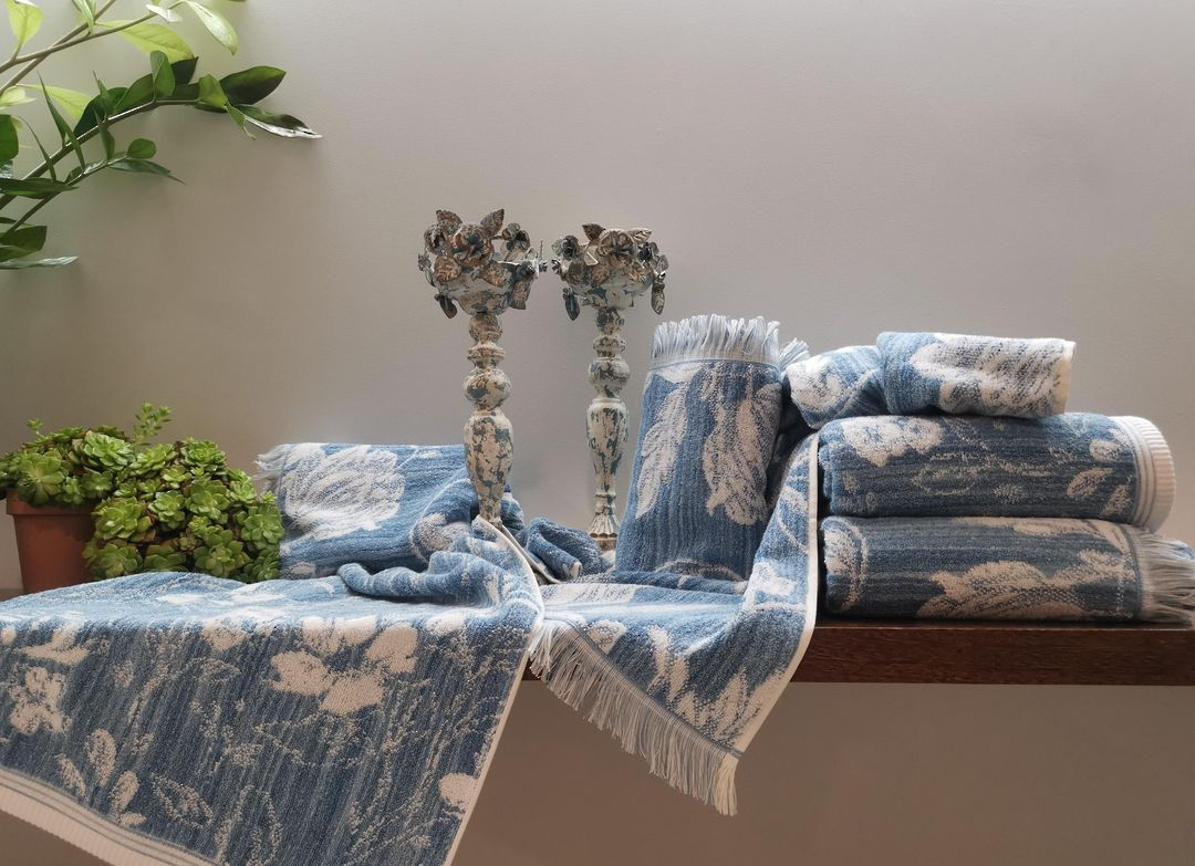 Importico - Spring Blue Towels image 1