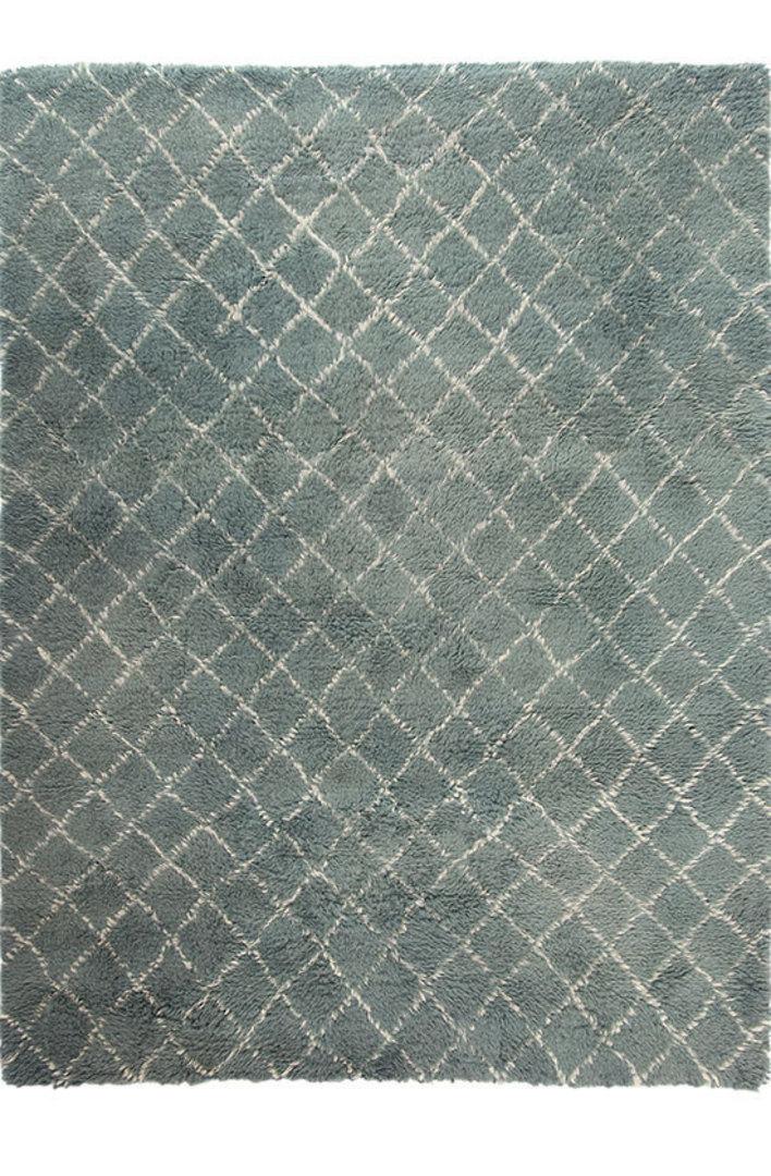 MM Linen - Flokati Diamond Floor Rug image 0