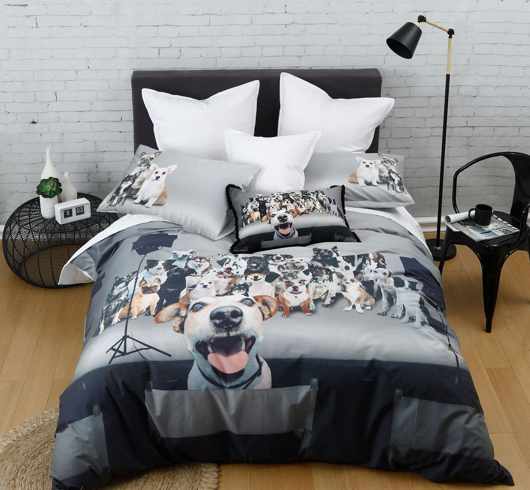 MM Linen - Photobomb Duvet Set image 0