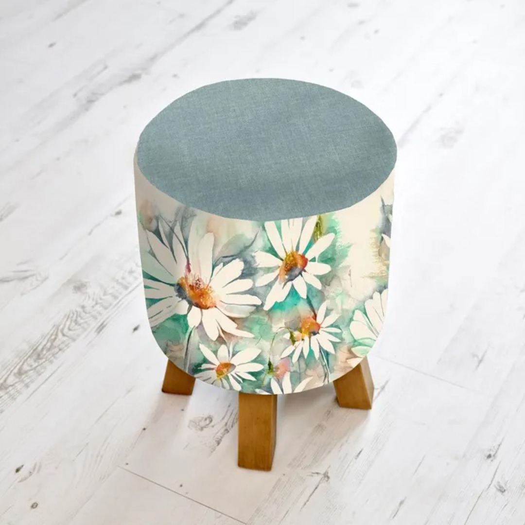 Importico -Voyage Maison - Monty Stools - Prairie Biscay Footstool image 0
