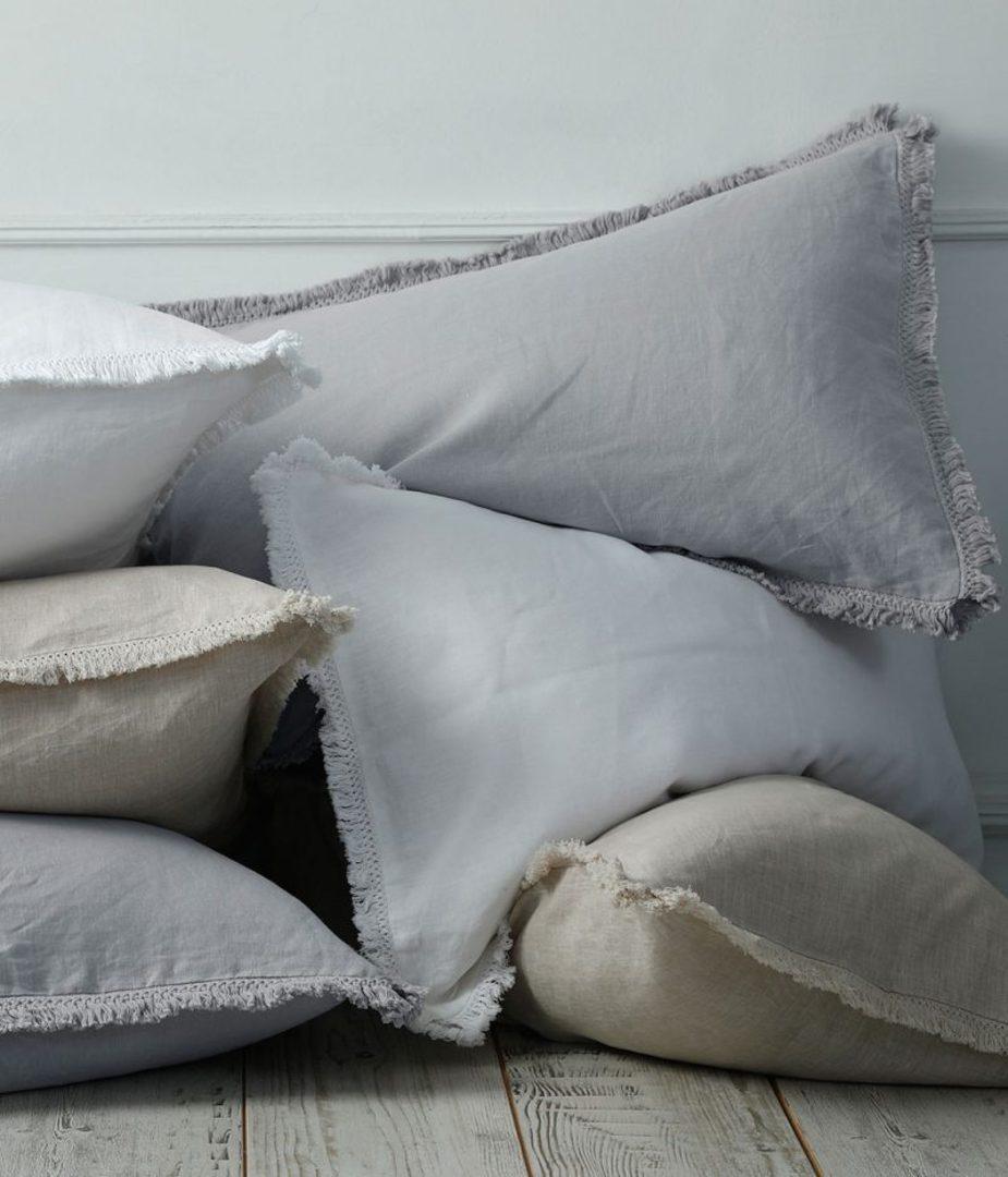 MM Linen - Laundered Linen - Bedspread Set - Pewter image 2