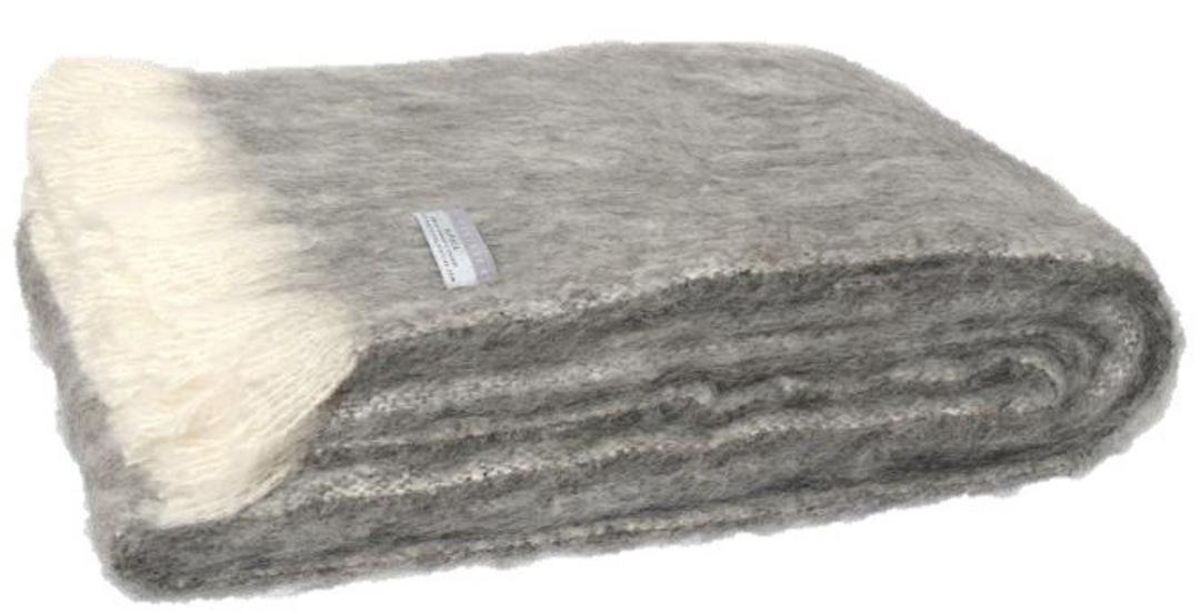 Alpaca Granite - Brushed Throw by Master Weave image 0