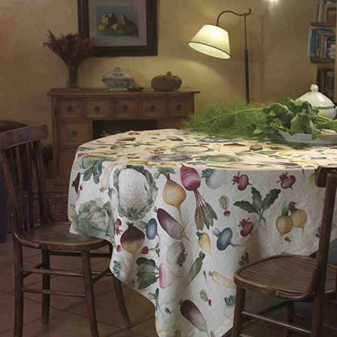 Importico - Tessitura Toscana Telerie - Potager Linen Table Cloths image 0