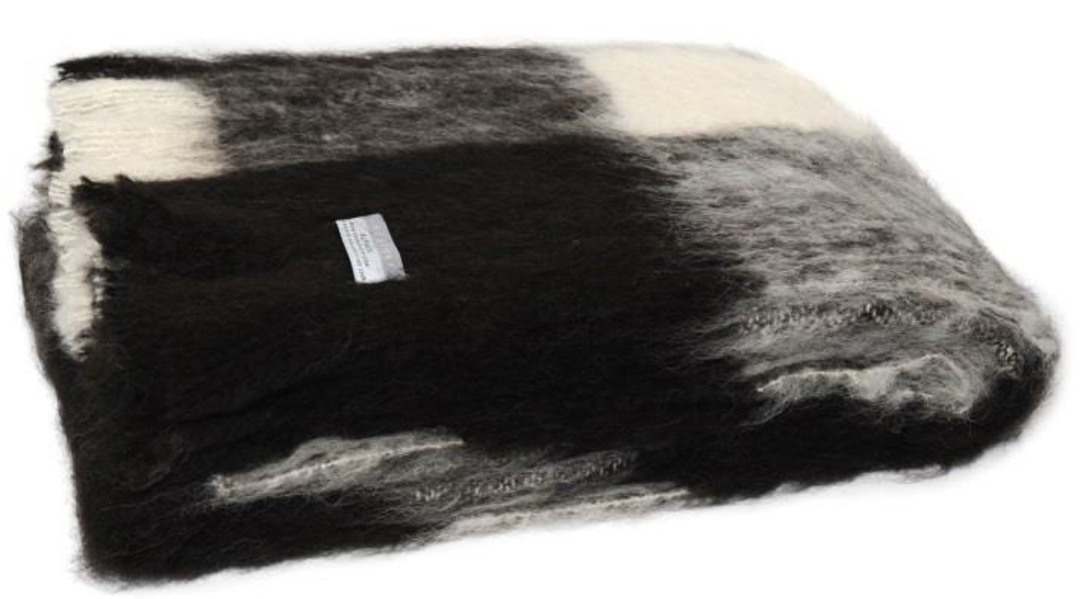 Alpaca Friesian - Brushed Throw by Master Weave image 0
