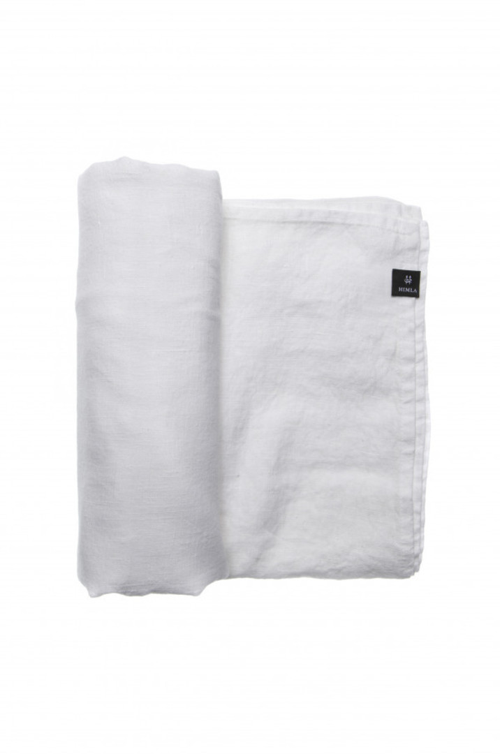 Importico - Himla Napkins/Table Runner/Tablecloths - White image 2