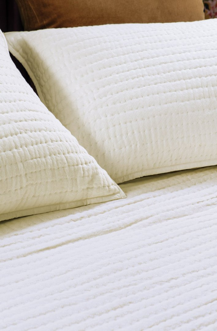 Bianca Lorenne - Pavage - Bedspread /Pillowcase and Eurocase Sold Separately - Ivory image 1